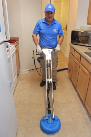 Deep cleaning of tile and grout in Jacksonville Fl