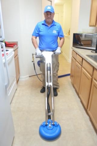 Deep cleaning of hard floors in Jacksonville Fl