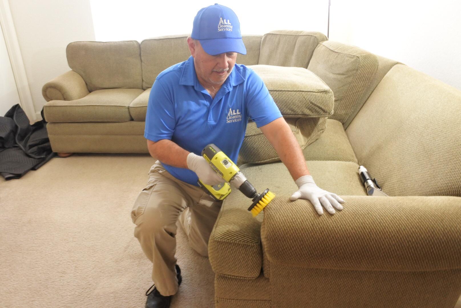 Upholstery Spot Cleaning in Jacksonville Fl